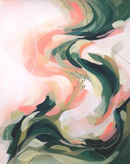 Fix You, peinture contemporaine abstraite de Vanessa Lim