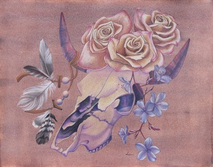 Crane cornu, illustration de Vanessa Lim