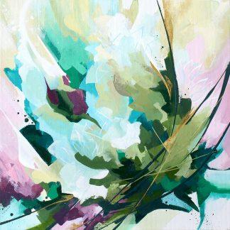 Espeletia, peinture contemporaine abstraite de Vanessa Lim