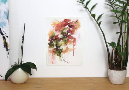 Collection-Jardin secret-Peinture 5, peinture contemporaine abstraite de Vanessa Lim