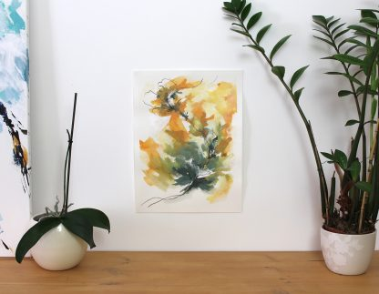 Collection-Jardin secret-Peinture 6, peinture contemporaine abstraite de Vanessa Lim