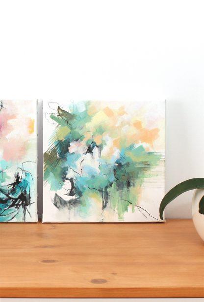 EN PLEIN REVE - peinture contemporaine abstraite de Vanessa Lim