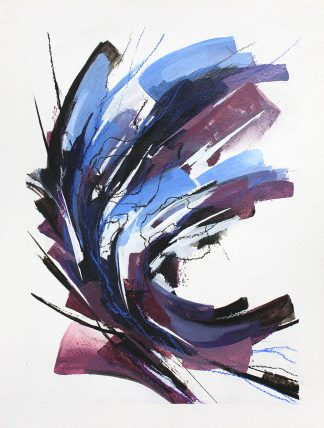 Obsession, peinture contemporaine abstraite de Vanessa Lim
