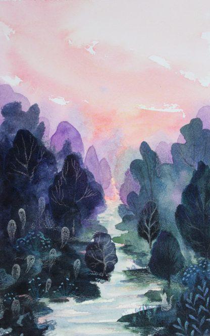 Ames perdues, illustration de Vanessa Lim
