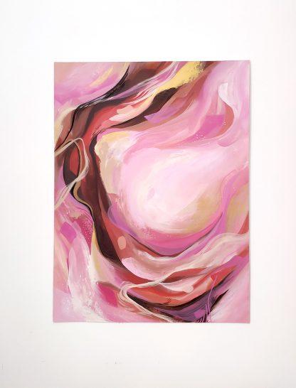 Submergée, peinture contemporaine abstraite de Vanessa Lim