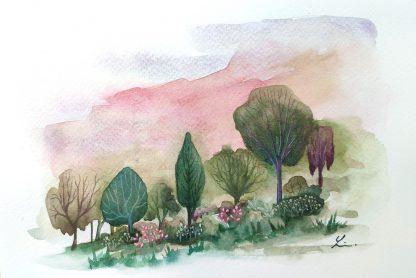 Enchanted woods n°6, paysage de Vanessa Lim