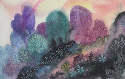 Enchanted woods n°5, paysage de Vanessa Lim